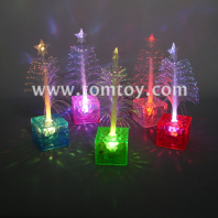 light up fiber optic christmas tree centerpiece tm02731