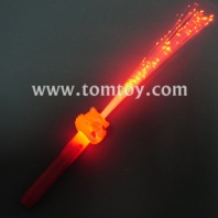 light up fiber optic tiger wand tm013-033-tiger