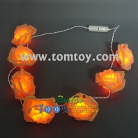 light up flower necklace with led lights tm00669