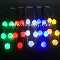 light up golf ball bead necklace tm02721
