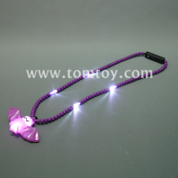 light up halloween bat necklace tm041-091