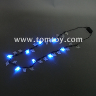 light up halloween ghost led necklace tm01090