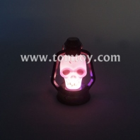 light up halloween led skull head lantern tm03097