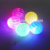 light up honeycomb bouncing ball tm06556