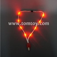 light up lanyard with badge clip tm148-036