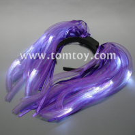 light up led flashing noodles headband costume tm03019-vt