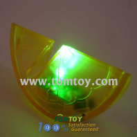 light up led orange shape drink garnish tm00191