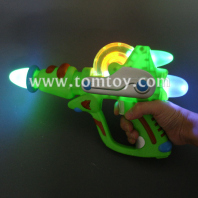 light-up led pistol gun laser blaster with sounds tm00765