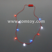 light up led star necklace tm04379