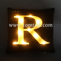 light up letters cushion tm03187-bk