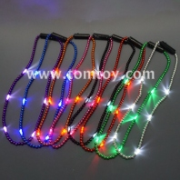 light up mardi gras beads necklace tm041-113-a