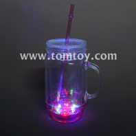 light up mason jar drinking mug tm03198