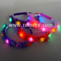 light up multicolor flower crown with 3 modes tm02959
