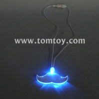 light up mustache necklace tm000-066-mustache-bl