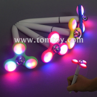 light up pen with led fidget spinner tm03044