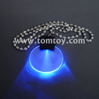 light up pendant beads necklace tm00059