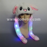light up pinching rabbit hat tm03391