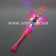 light up pink angel butterfly wand tm012-078-pk