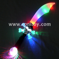 light up pirate skull saber sword tm00958