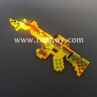 light up pixelated gun tm04270