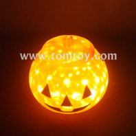 light up pumpkin bucket with projector light tm06856