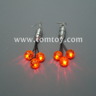 light up pumpkin earrings tm01093-pumpkin