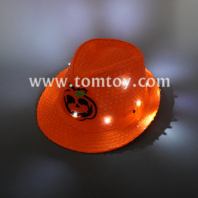 light up pumpkin sequin hat tm06217