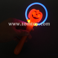 light up pumpkin stick tm000-081-pumpkin