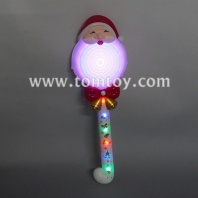 light up santa claus spinning wand tm06639