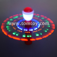 light up santa spinning tm04419