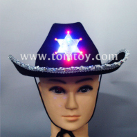 light up sequin cowboy hat tm02176