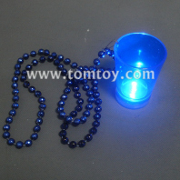 light up shot glass necklace tm025-097-bl