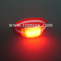 light up silicone band bracelet tm001-080-rd