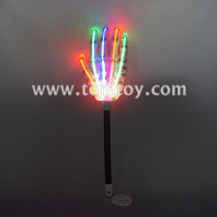 light up skeleton hand led wand tm00300