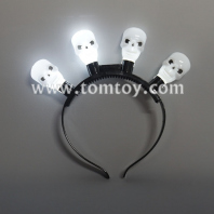 light up skull headband tm03549