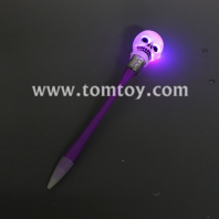 light up skull pen tm04398