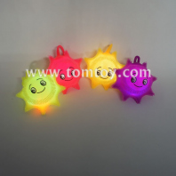 light up smile face puffer ball tm02839