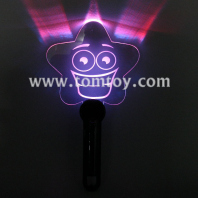 light up smiley star wand tm267-008