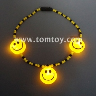 light up smileys bead necklace tm02941