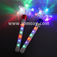 light up snowflake spinning wand tm04448