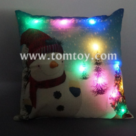 light up snowman pillow tm03257