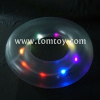 light up swim ring inflatable tube tm101-153