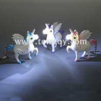 light up unicorn key ring tm02990