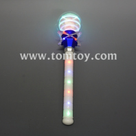 light up unicorn magic wand tm05468