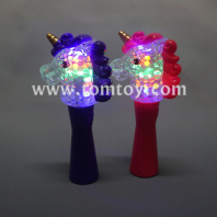 light up unicorn spinner wand tm04060