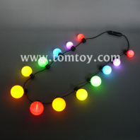 luminous colorful bulb necklace tm02744