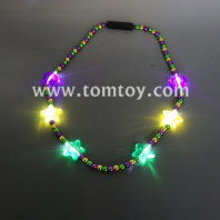 mardi gras flashing bead necklace tm04120-pgy
