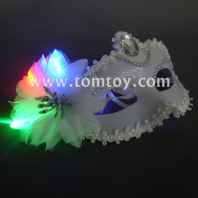 masquerades party led white masks tm179-009
