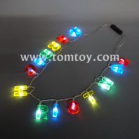 merry christmas led necklace tm00712