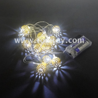 metal ball led string lights tm06890